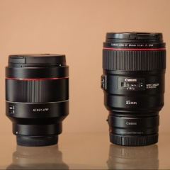 Canon EF 85mm f/1.4L IS USM VS Samyang AF 85mm f/1.4 RF review | Trouwfotograaf Den Haag Gear Talk